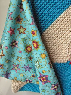 how to sew on a blanket backing