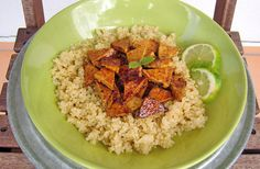 Quinoa s tofu Tofu, Healthy Cooking, Quinoa, Ale, Veggies, Baking, Fitness, Vegetable Recipes, Ale Beer