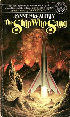 Publication: The Ship Who Sang Authors: Anne McCaffrey Year: 1976-02-00 ISBN: 0-345-24823-6 [978-0-345-24823-7] Publisher: Ballantine Books Cover: The Brothers Hildebrandt