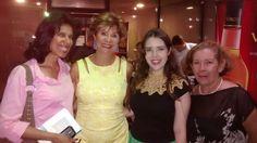 Con Charo De León, Ysabel Velásquez y una de mis queridas pacientes de BGV