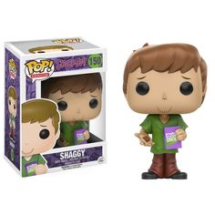 Funko Pop Scooby Doo Shaggy #150 Vaulted UK Seller  Genuine Vinyl Pop Figure