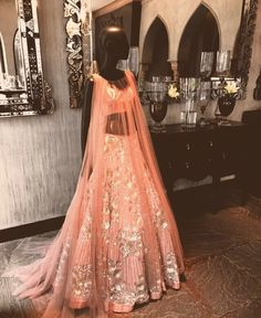 Manish Malhotra # modern Bride # pastel look -# Indian fashion