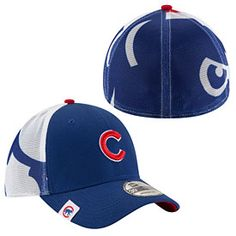 3447d19fd84 Get this Chicago Cubs Logo Wrapped 39THIRTY Flex Fit Cap at  WrigleyvilleSports.com