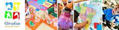 Desenvolvemos aulas em Português preparadas para crianças de 0 à 7 anos, cheias de arte, brincadeiras e diversões, tudo que toda criança gosta!