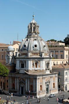 Santa Maria di Loreto - Roma, Italia // Antonio da Sangallo il Giovane - Cupola di Giacomo Del Luca