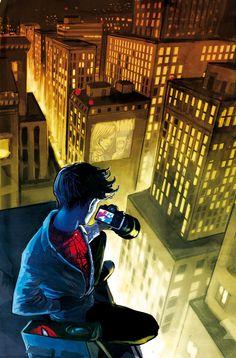 Peter Parker loves his city.