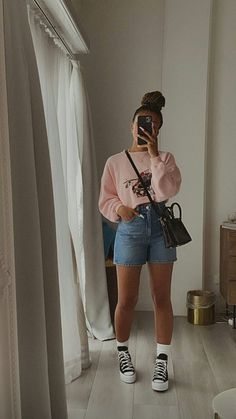 Black Girl Fashion, Look Fashion, Fashion Outfits, Cute Comfy Outfits, Stylish Outfits, College Outfits, Everyday Outfits, Aesthetic Clothes, Streetwear Fashion