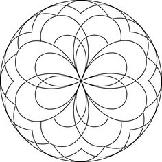 Difficult Mandala Coloring Pages | Mandala 19 - Mandalas for ...