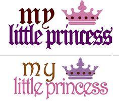 My Little Princess   machine embroidery fill stitch by artapli, $2.89