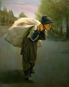 Life's Burden by Morteza Katouzian, 1943, Iranian