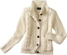 Peregrine Women's Chunky Aran Sweater Coat, Women's New For Fall Tops, Home : Cabela's
