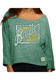 Product: Baylor University Bears Women's Long Sleeve Hi-Lo T-Shirt
