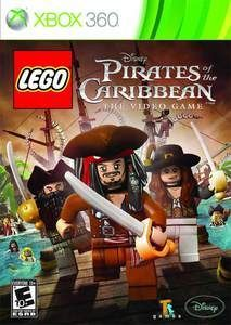 Lego Pirates of the Caribbean - Xbox 360 Game