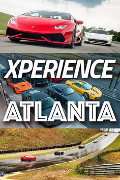 Driving a Supercar at Atlanta Motorsports Park might be one of the greatest Xperiences you'll ever have in the Peach State. Find out how Xtreme Georgia is by visiting us, and other great places seen on this board.