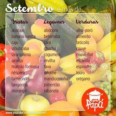 Cozinha colorida você encontra aqui. Olha aí os produtos da safra desse mês!!! #safradomês Tamarindo, Food Charts, Cantaloupe, Food And Drink, Cooking, Tips, Instagram Posts, How To Make, Recipes