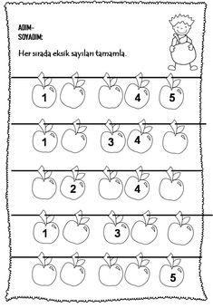 Preschool Math, Preschool Worksheets, Maths Paper, Working With Children, Coding, Note Cards, Creativity, Fun Learning, Preschool