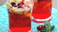 Jolly Cranberry Juice Sangria Recipe - Genius Kitchen Sangria Recipes, Drinks Alcohol Recipes, Punch Recipes, Yummy Drinks, Smoothie Recipes, Alcoholic Beverages, Drink Recipes, Crowd Recipes, Cocktail Recipes