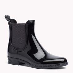 Tommy Hilfiger Ankle Boots Im Materialmix - black - Tommy Hilfiger Stiefel & Stiefeletten - detail-Bild 0