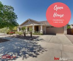 Open House this Thursday from 1-3 in the highly desired neighborhood of Cortina in Queen Creek - Register here: