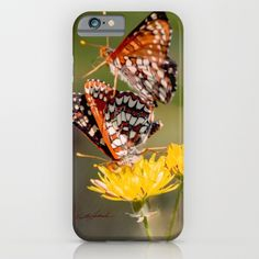 Butterfly Acrobats iPhone & iPod Case by Vikki Salmela, new #butterflies #flowers #photography #art on #tech #accessory #phone #cases for #travel #office #her #school or fun #gift idea.