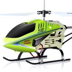 2016 SYMA S8 3.5CH RC Helicopter Electric with Gryo Remote Control Searching Light RTF Model Toys ,Gift for Child,Green,Black #tech #rc #rchelicopter #toys #hobbies