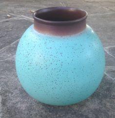 "Edith Heath Vase. 7.5"" T x 7.5"" W, Incised Heath. Sold On EBay 09/12/13 $378.99. 1 of 2."
