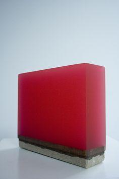 Herbert Hamak  Solid resin on cotton