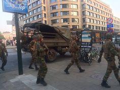 SCRIVOQUANDOVOGLIO: BRUXELLES:UN MAIALE DELL'ISIS ANNIENTATO PRIMA CHE...