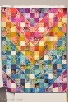 I belive this is an Anna Maria Horner quilt from QM Fall 2013.