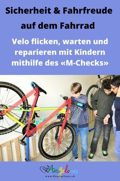 Velofahren macht Spass – insbesondere Kindern. Auch wir haben unsere Velos aus dem Winterschlaf geweckt und freuen uns auf eine ausgiebige Velosaison. Um die ganze Saison über Freude am Velo zu haben, ist es wichtig, dass das Velo kontrolliert, gewartet und gereinigt ist. Damit fährt die ganze Familie nicht nur angenehmer, sondern vor allem sicherer! #Fahrrad #Velo #reparieren #flicken #warten #DieAngelones Happy, Veils, Kids Learning, Media Literacy, Child Development, Learn To Read, Ser Feliz, Being Happy