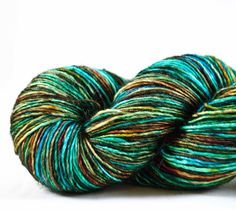 TLS ANASAZI JEWELS  superwash merino/cashmere/silk Cassiopeia fingering weight singles Free u.s. Shipping. $31.00, via Etsy.