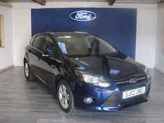 NOW SOLD - Ford Focus 1.6 125 Zetec  at Swanson Ford! Please call 01626 352000 or visit www.Swanson-Ford.co.uk #Ford #Focus #Zetec #Hatchback #Petrol #Blue #LowMileage #2012 #Manual