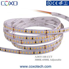 SMD 2835 168leds/m CCT Bicolor Temperature Adjustable Led Strip