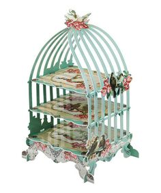Take a look at this Pastries & Pearls Birdcage Patisserie Stand by Talking Tables on #zulily today!