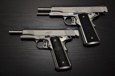Dual Kimber Tactical 1911s