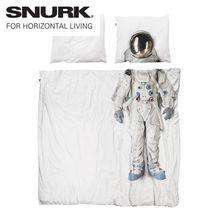 Pin for Later: Take Your Home to Another Planet With These Otherworldly Interior Buys Snurk Astronaut Double Duvet Set Duvet Sets, Duvet Cover Sets, Pillow Covers, Double Duvet Set, Take You Home, Space Interiors, To Infinity And Beyond, Home Living, Kids Decor
