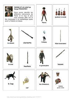 Pierre Et Le Loup Personnages : pierre, personnages, Idées, Pierre, Loup,