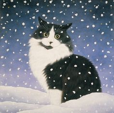 Snow Cat by Anne Mortimer