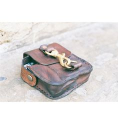 The Jas Leather Belt Pouch Cellphone Multitool. by JJLeathersmith