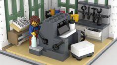 LEGO Printing Office | by BrickJonas