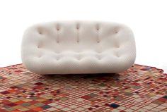 Modern and cozy sofa design – Ploum by Estudio Bouroullec