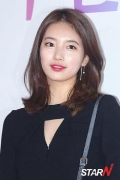Hair short korean girl shoulder length ideas for 2019 Ponytail Hairstyles Tutorial, Hairstyles With Bangs, Girl Hairstyles, Medium Hair Styles, Short Hair Styles, Korean Short Hair, Korean Girl, Hair Color Asian, Asian Haircut