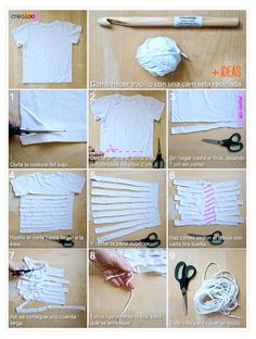 Cordão de malha para crochê