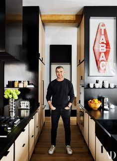 Liev Schreiber enlists Ashe + Leandro to turn his old bachelor pad into a home for him and his two sons