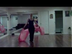 Montage of Belly Dance Veil Moves -good for drills and there are some interesting variations.