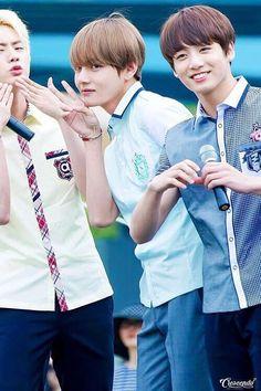 Jin & V & Jeon JungKook / Bangtanboys ( BTS )