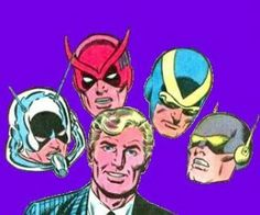 Hank Pym and his alter-egos - Ant-man, Giant-man, Goliath ...
