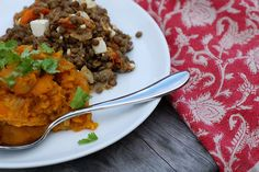 Red Kuri Squash with Indian Spices