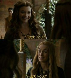 Margaery Tyrell and Cersei Lannister