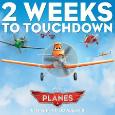 Re-Pin this image if you're heading to see Disney's Planes in theatres opening weekend!
